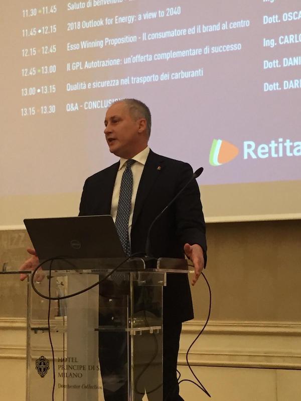Dario Falchi Amministratore Delegato Retitalia Spa