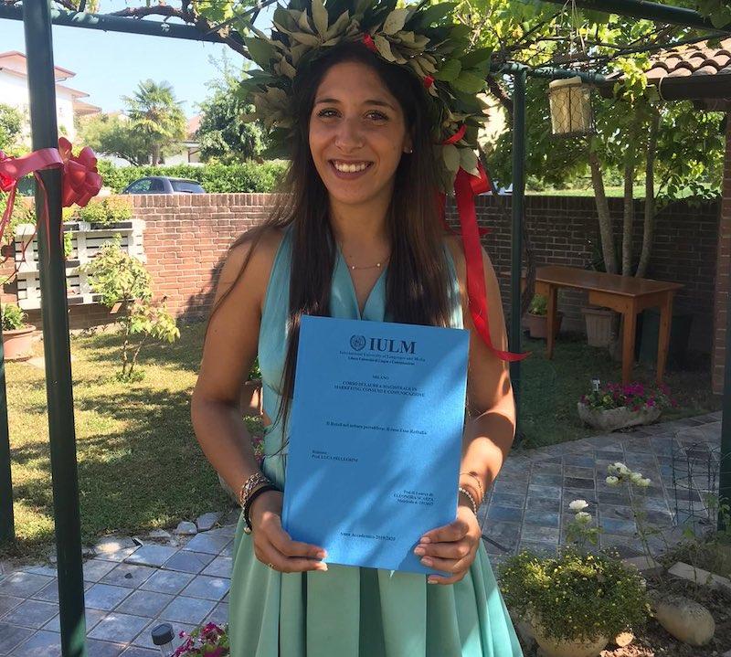 congratulazioni Eleonora